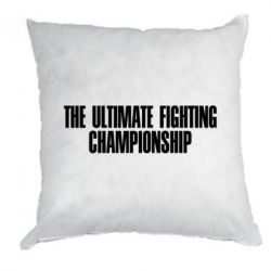 Подушка The Ultimate Fighting Championship