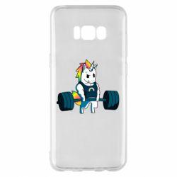 Чохол для Samsung S8+ The unicorn is rocking
