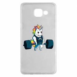 Чохол для Samsung A5 2016 The unicorn is rocking