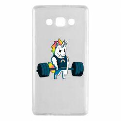 Чохол для Samsung A7 2015 The unicorn is rocking