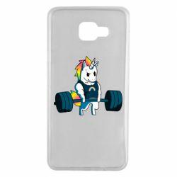 Чохол для Samsung A7 2016 The unicorn is rocking