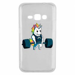 Чохол для Samsung J1 2016 The unicorn is rocking
