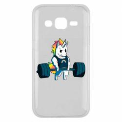 Чохол для Samsung J2 2015 The unicorn is rocking