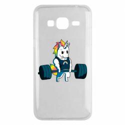 Чохол для Samsung J3 2016 The unicorn is rocking