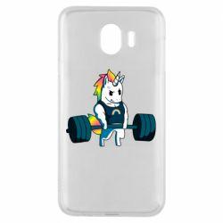 Чохол для Samsung J4 The unicorn is rocking