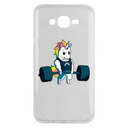 Чохол для Samsung J7 2015 The unicorn is rocking