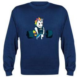 Реглан (світшот) The unicorn is rocking