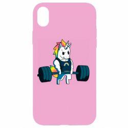 Чохол для iPhone XR The unicorn is rocking