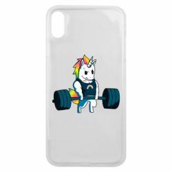 Чохол для iPhone Xs Max The unicorn is rocking