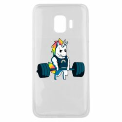 Чохол для Samsung J2 Core The unicorn is rocking