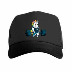 Кепка-тракер The unicorn is rocking