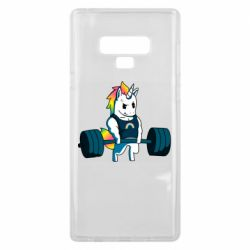Чохол для Samsung Note 9 The unicorn is rocking