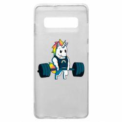 Чохол для Samsung S10+ The unicorn is rocking