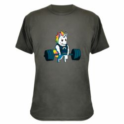 Камуфляжна футболка The unicorn is rocking