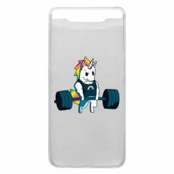 Чохол для Samsung A80 The unicorn is rocking
