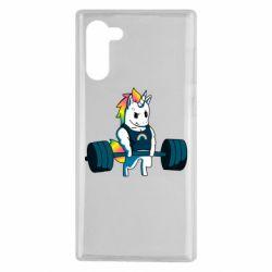 Чохол для Samsung Note 10 The unicorn is rocking