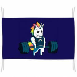 Прапор The unicorn is rocking