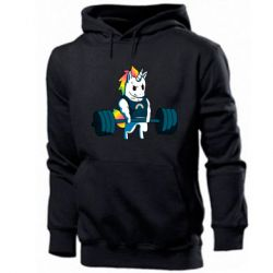 Чоловіча толстовка The unicorn is rocking