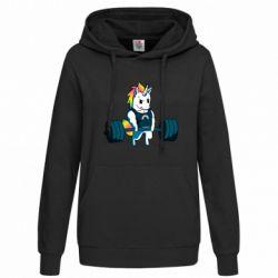 Толстовка жіноча The unicorn is rocking