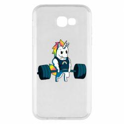 Чохол для Samsung A7 2017 The unicorn is rocking