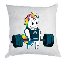 Подушка The unicorn is rocking