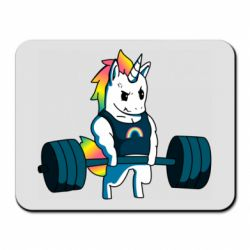 Килимок для миші The unicorn is rocking