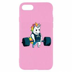 Чохол для iPhone 7 The unicorn is rocking