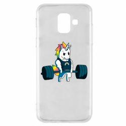 Чохол для Samsung A6 2018 The unicorn is rocking