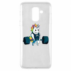 Чохол для Samsung A6+ 2018 The unicorn is rocking