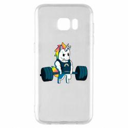 Чохол для Samsung S7 EDGE The unicorn is rocking