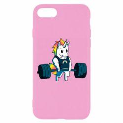 Чохол для iPhone 8 The unicorn is rocking