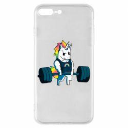 Чохол для iPhone 8 Plus The unicorn is rocking