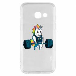 Чохол для Samsung A3 2017 The unicorn is rocking