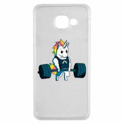 Чохол для Samsung A3 2016 The unicorn is rocking