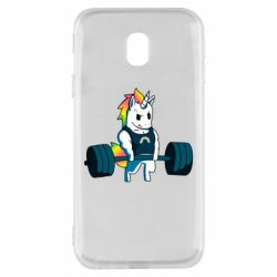 Чохол для Samsung J3 2017 The unicorn is rocking