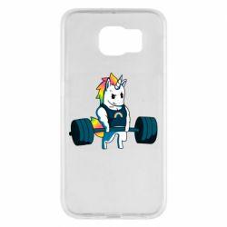 Чохол для Samsung S6 The unicorn is rocking