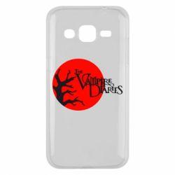 Чехол для Samsung J2 2015 The Vampire Diaries