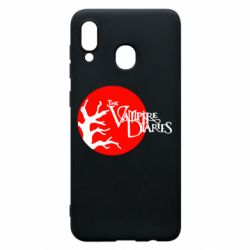 Чехол для Samsung A20 The Vampire Diaries