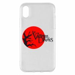 Чехол для iPhone X/Xs The Vampire Diaries