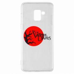Чехол для Samsung A8+ 2018 The Vampire Diaries
