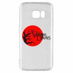 Чехол для Samsung S7 The Vampire Diaries
