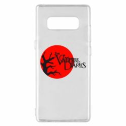 Чехол для Samsung Note 8 The Vampire Diaries