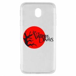 Чехол для Samsung J7 2017 The Vampire Diaries