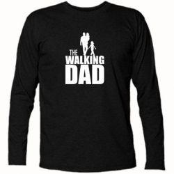 Футболка с длинным рукавом The walking dad