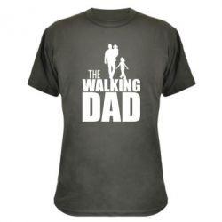 Камуфляжная футболка The walking dad