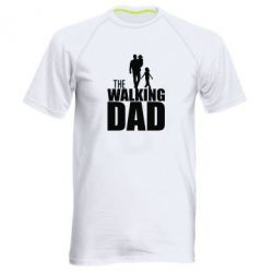 Мужская спортивная футболка The walking dad