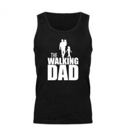 Мужская майка The walking dad