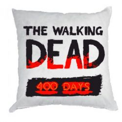 Подушка The Walking Dead 400 days