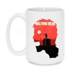 Кружка 420ml The walking dead 4