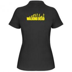Женская футболка поло The Walking Dead Evolution
